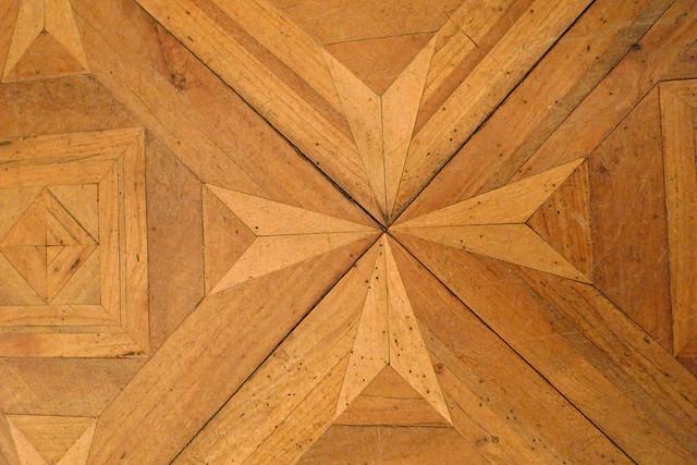 Parquet flooring panel - detail