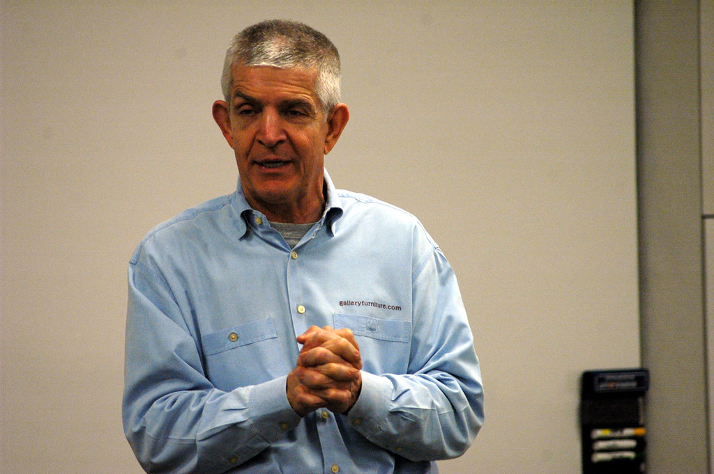... Jim McIngvale Visits Mays | By Mays Business School