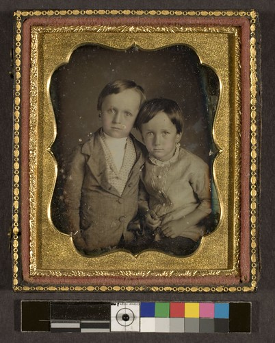 Portrait of two unidentified children | by George Eastman House