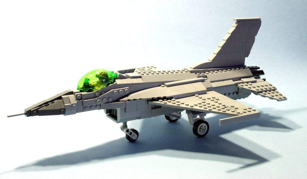 Лего самолет истребитель как сделать