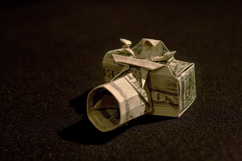 money origami camera who said you cant get a camera