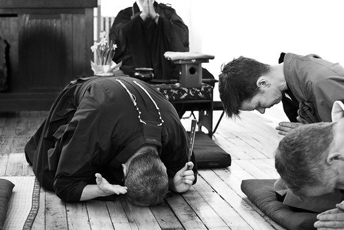 Shuso Hossen at the Village Zendo, Winter 2010 | by emptysquare