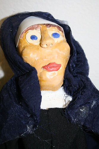 Mother Theresa puppet -- Human Rights project