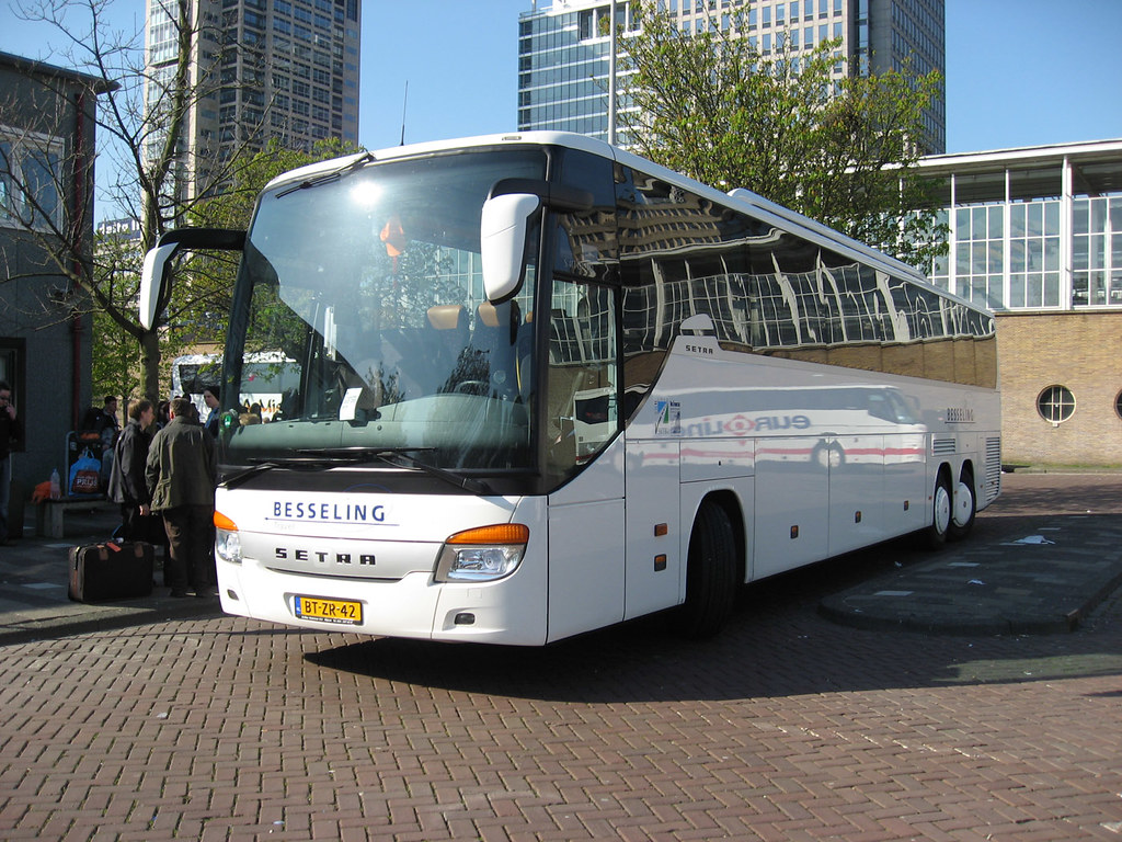 besseling bus eurolines amsterdam another dutch extra bus flickr. Black Bedroom Furniture Sets. Home Design Ideas