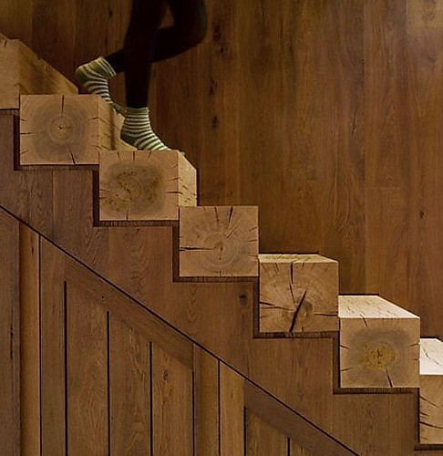 Interior design stairs wood architecture detail inspiratio for Architecture wood