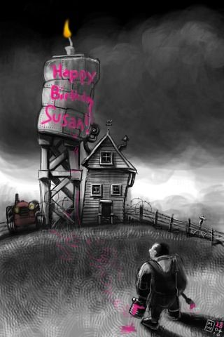 Happy Birthday Susan From All Of Us Down At The Farm