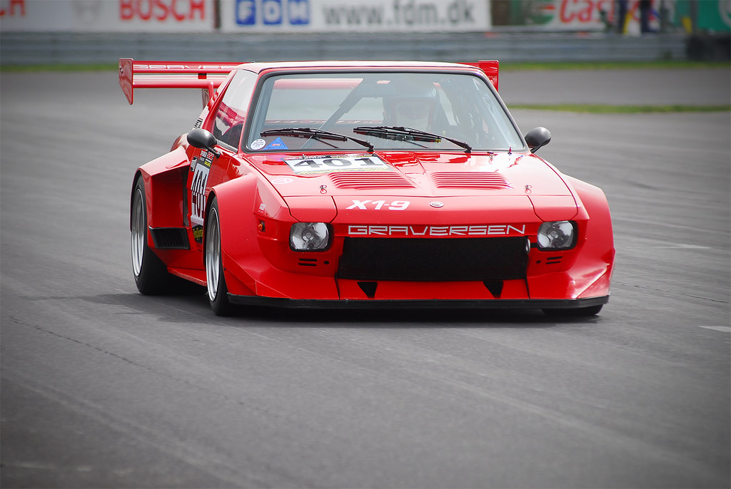 Fiat X1/9 | Johannes Graversen Racing his extremely fast ...