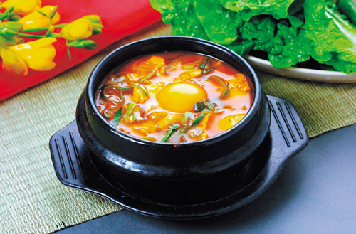 sundubu-jjigae, Spicy Soft Tofu Stew | Spicy stew containing… | Flickr