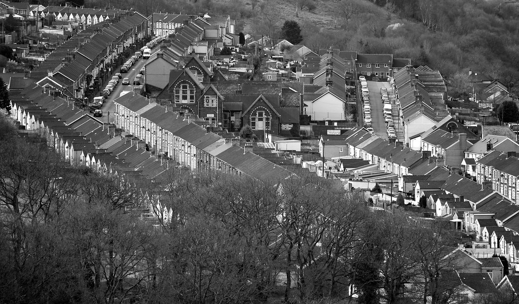 The Rooftops Of Cilfynydd | Cilfynydd today stands on the ...