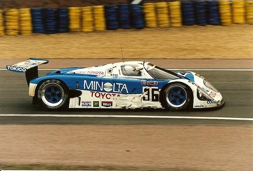 Toyota 90c V Le Mans 1990 Geoff Lees Hitoshi Ogawa