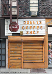 Donuts Coffee Shop  - Scale model - Park Slope | by Randy Hage