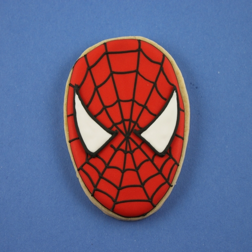 Spiderman face logo - photo#54
