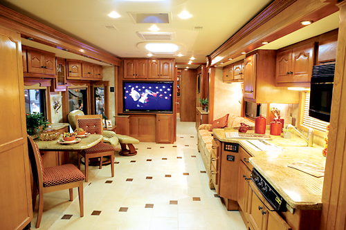 Luxury rv interior - Motor Home Inside 1 Jo An Deark Torres Rgdc Alameda Cc Flickr