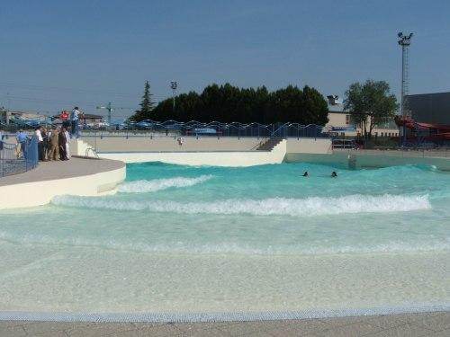 Onda piscina crema mondo del gusto flickr for Piani del cortile con piscine
