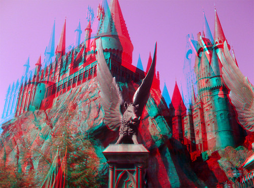 3D Wizarding World of Harry Potter | A 3D shot taken with