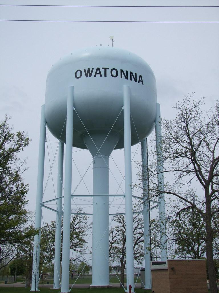 Owatonna Storage #23 - ... Rjsmomma Owatonna, MN Water Tower | By Rjsmomma