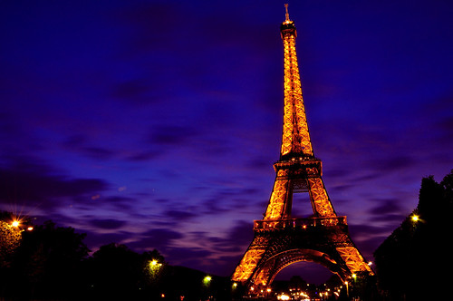 Eiffel Tower by dusk | by Keeboon Tan