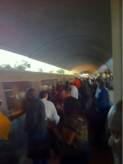 Red Line still crappy. Silver Spring a madhouse.  #wmata | by punkwalrus