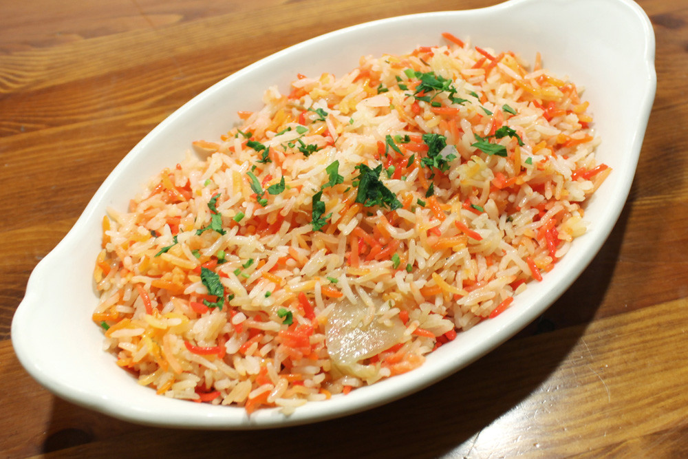 Pilau Rice - step by step
