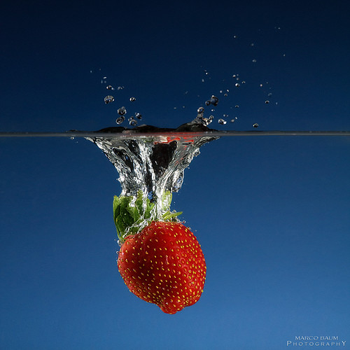 strawberry splash | by baummarco