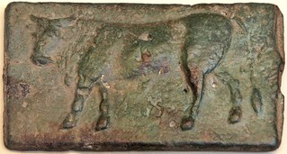 05/1  Aes Signatum Quincussis Bar. Bull; Bull. On display in the British Museum | by Ahala