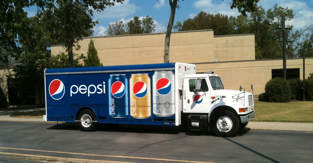 Pepsi Truck IMG_0104 | A Pepsi straight truck (International… | Flickr