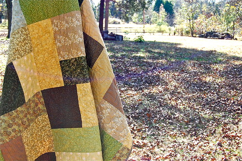 Cool Greens arty | by Sarah quilts!
