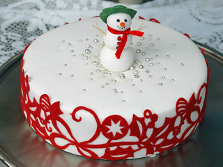 Frosty Christmas Cake | by Sugarbloom Bev