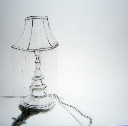 ... Lzm Gloomy Lamp Drawing | By Laurie Mann