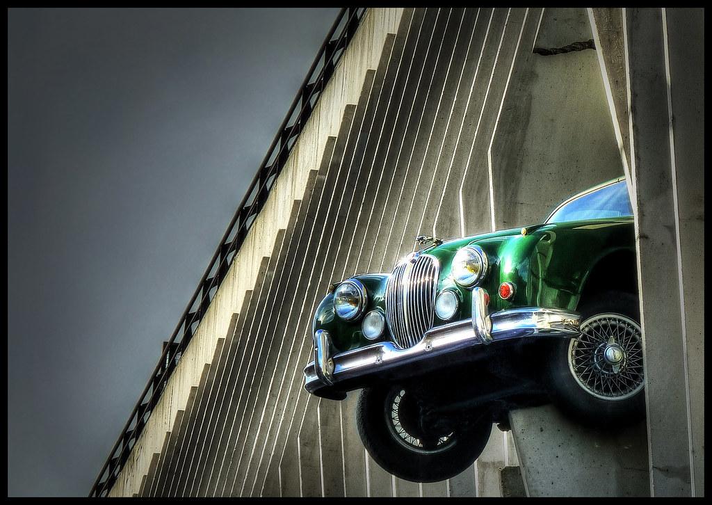 sueurs froides bordeaux la jaguar du parking victor hugo flickr. Black Bedroom Furniture Sets. Home Design Ideas
