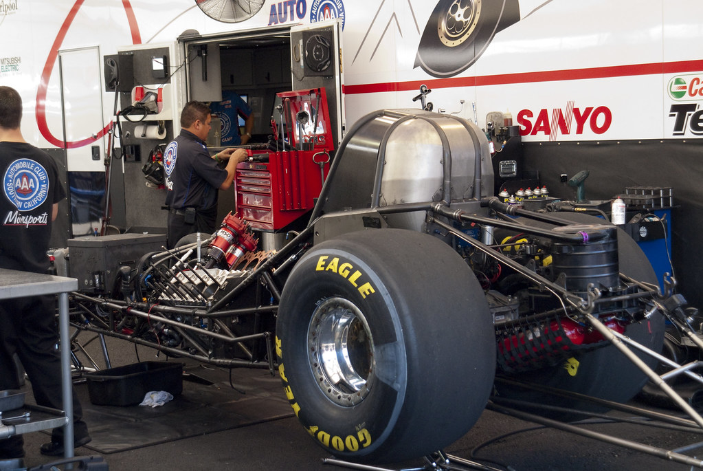 Robert Hight S Mustang Funny Car Chassis Mshennessy Flickr