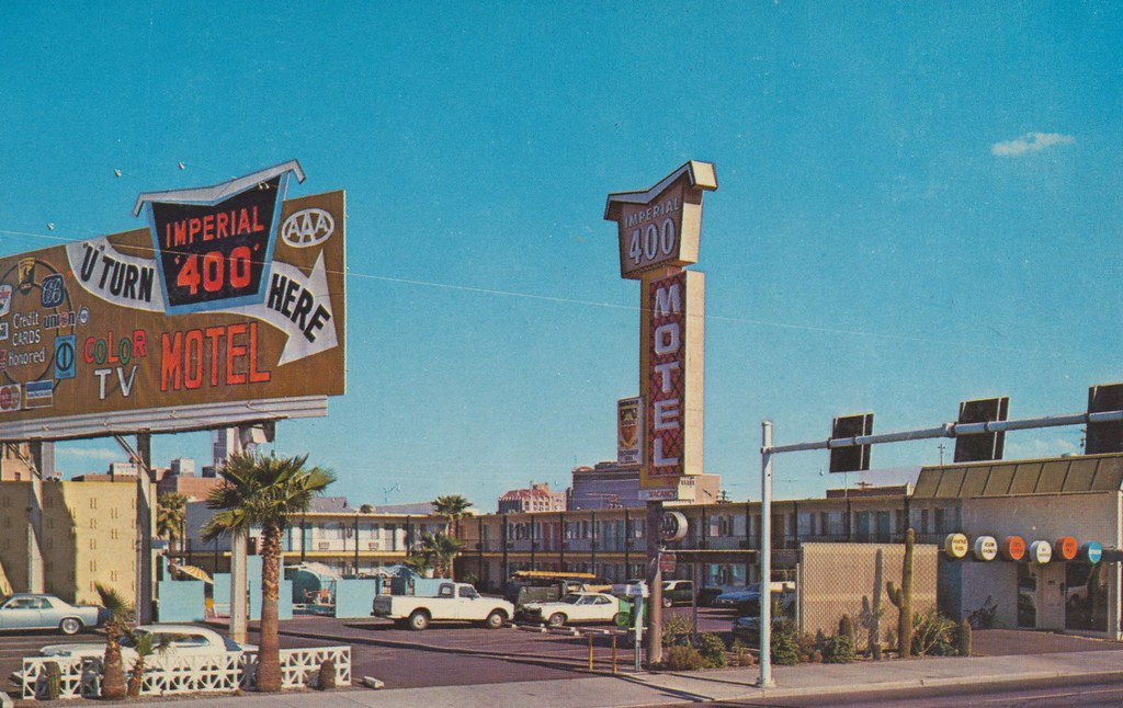 Imperial '400' Motel - Phoenix, Arizona