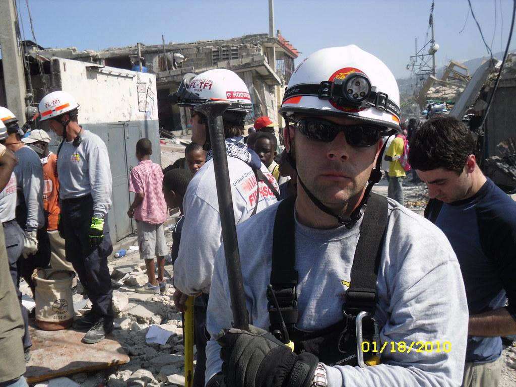 Miami-Dade FL-TF1 Search And Rescue Team In Haiti Conducts