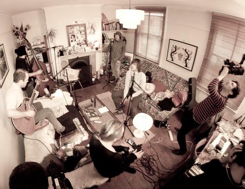 Living Room Session Portland Oreong
