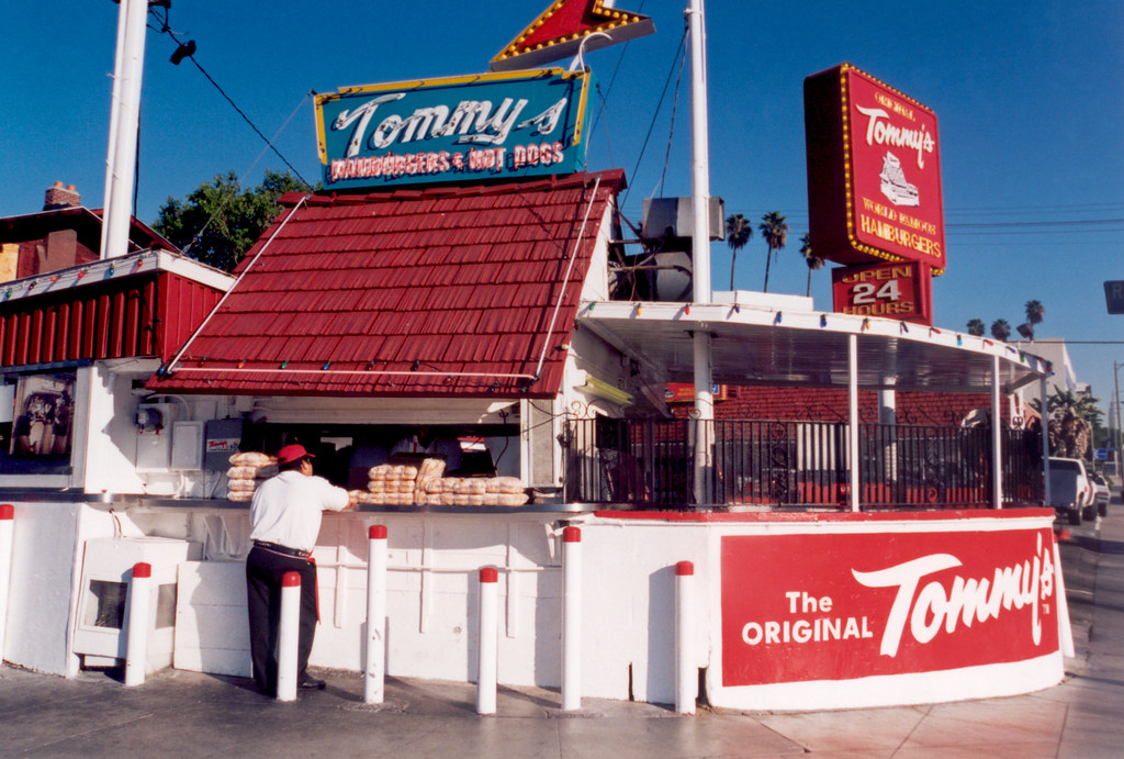 The Original Tommy's | Tom Koufax founded Tommy's at this