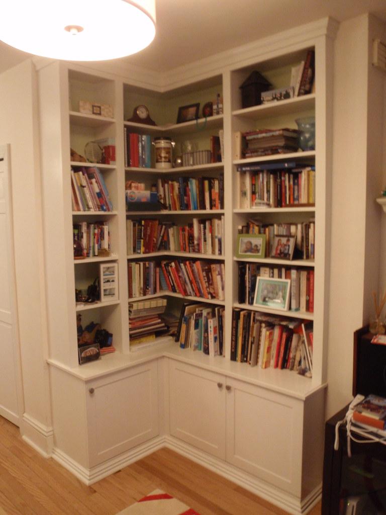 Corner Bookcase Design And Construction By Jeremy Savian