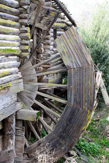 The Historic Hart Park Water Wheel Built By R E White