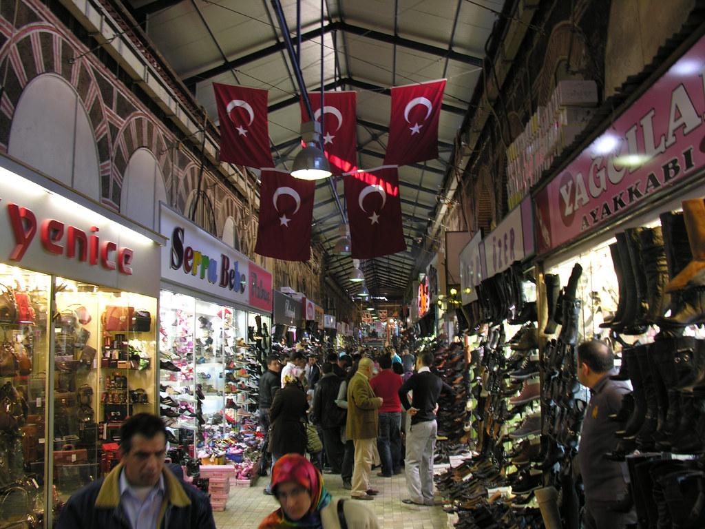 Bursa Kapalı Çarşı ( The Grand Bazaar )  Bursa Kapalı Çarşı…  Flickr