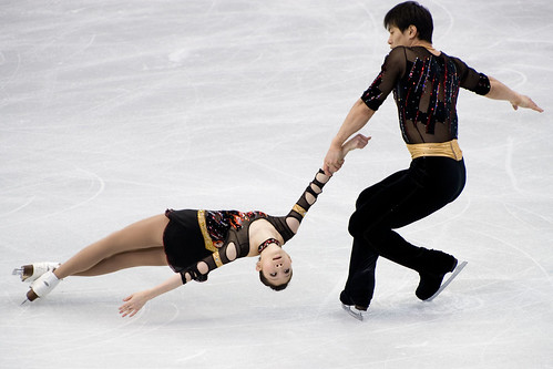 Olympic Pairs Figure Skating | by Russ Beinder