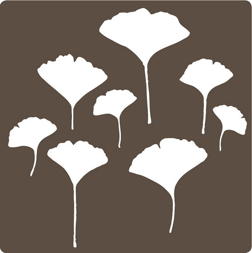 ginkgo wall sticker/decal | by birds & trees