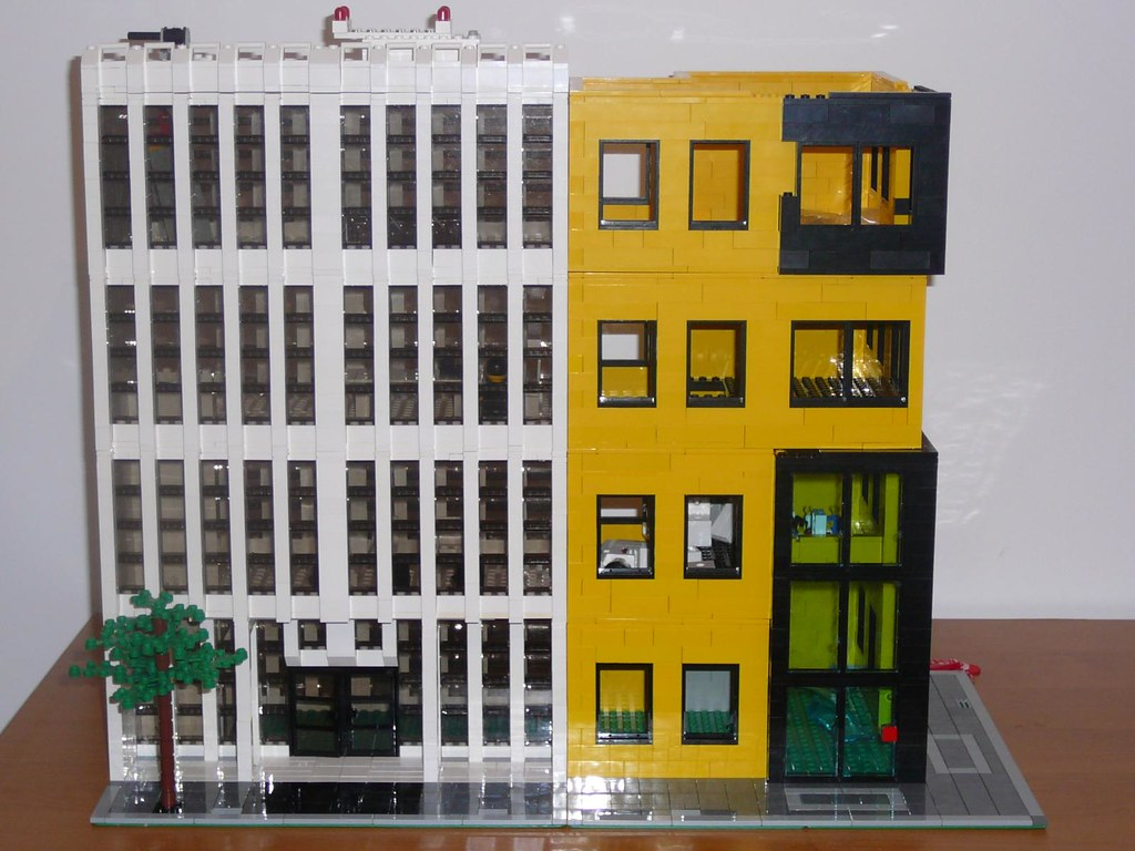 lego office building. Lego Office Building D