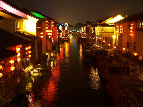 the night lights of suzhou | by ricomon87