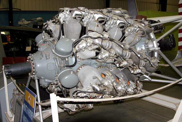 Pratt & Whitney R-4360 Wasp Ma...