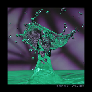 "splash in ""purpreen"" 