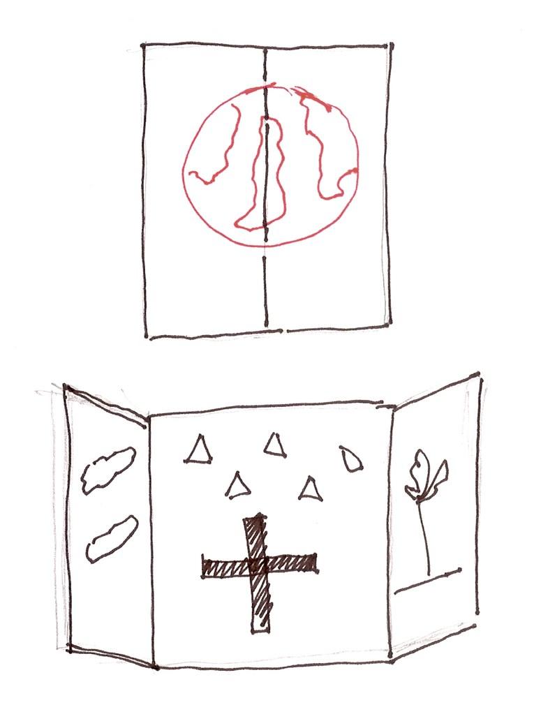 Um tríptico Privado da Idade Média