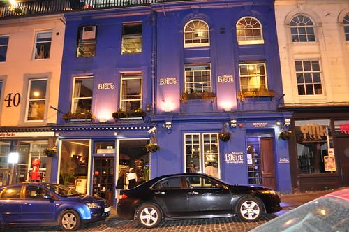 Maison bleue restaurant old town edinburgh lovely french flickr - Maison bleue mobel ...