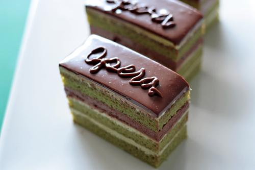 Green Tea Opera Cake | Kra-Jeab | Flickr