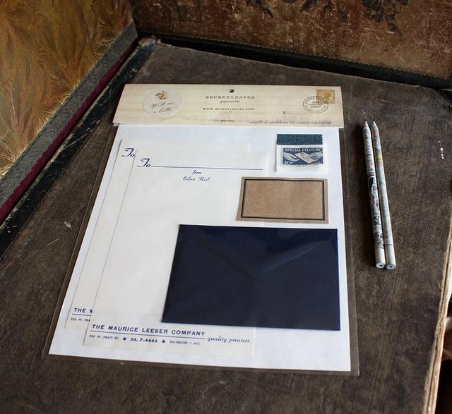 vintage stationery letter writing kit practice the lost With vintage stationery letter writing kit