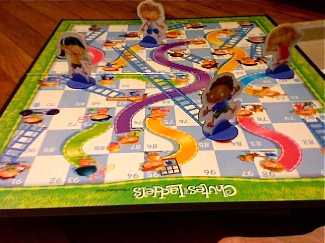 Image result for chutes and ladders board game