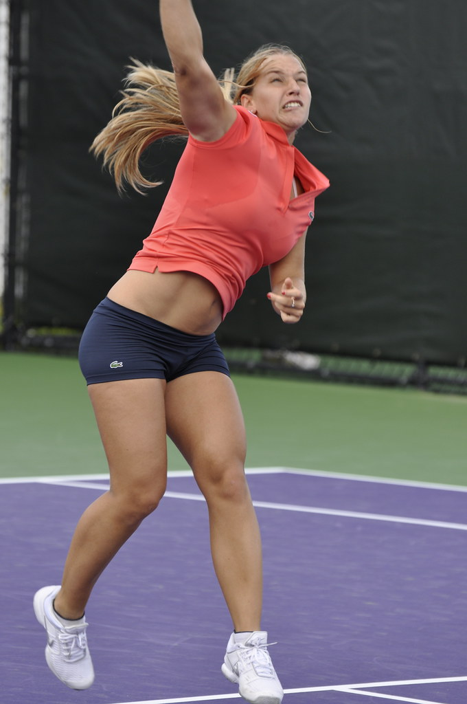 Maria sharapova hot training session - 3 part 6
